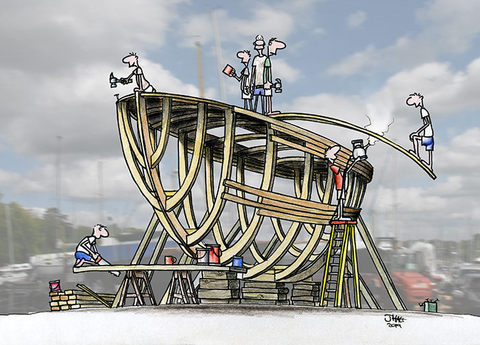 Traditional Boatbuilding
