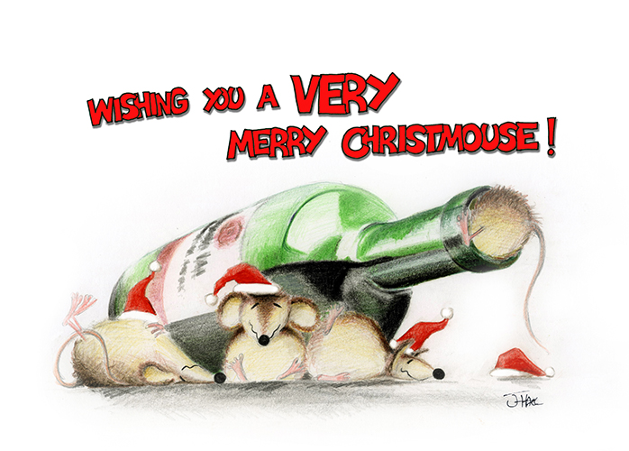 Wishing you a VERY merry Christmouse!